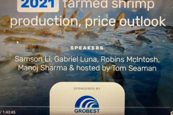 2021 farmed shrimp production, price outlook