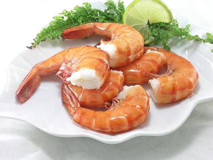FROZEN COOKED HLSO EASY PEELED BLACK TIGER PRAWN