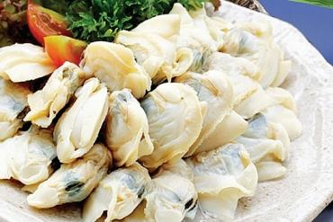 COOKED WHITE CLAM MEAT